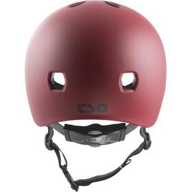 TSG Meta Solid Color Helmet satin oxblood